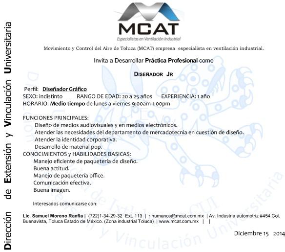 mcat pp diseño