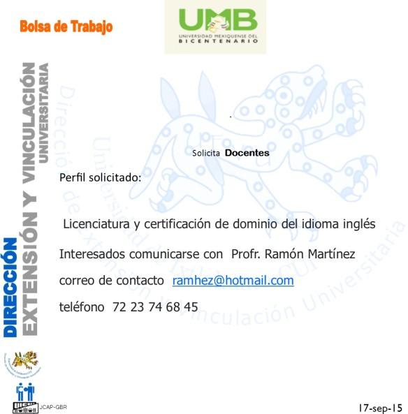 UMB inglés