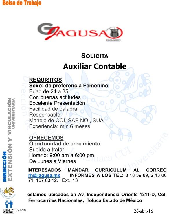 JAgusa Aux contable