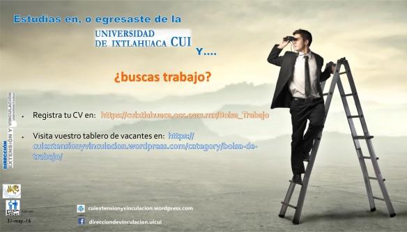 buscas trabajo