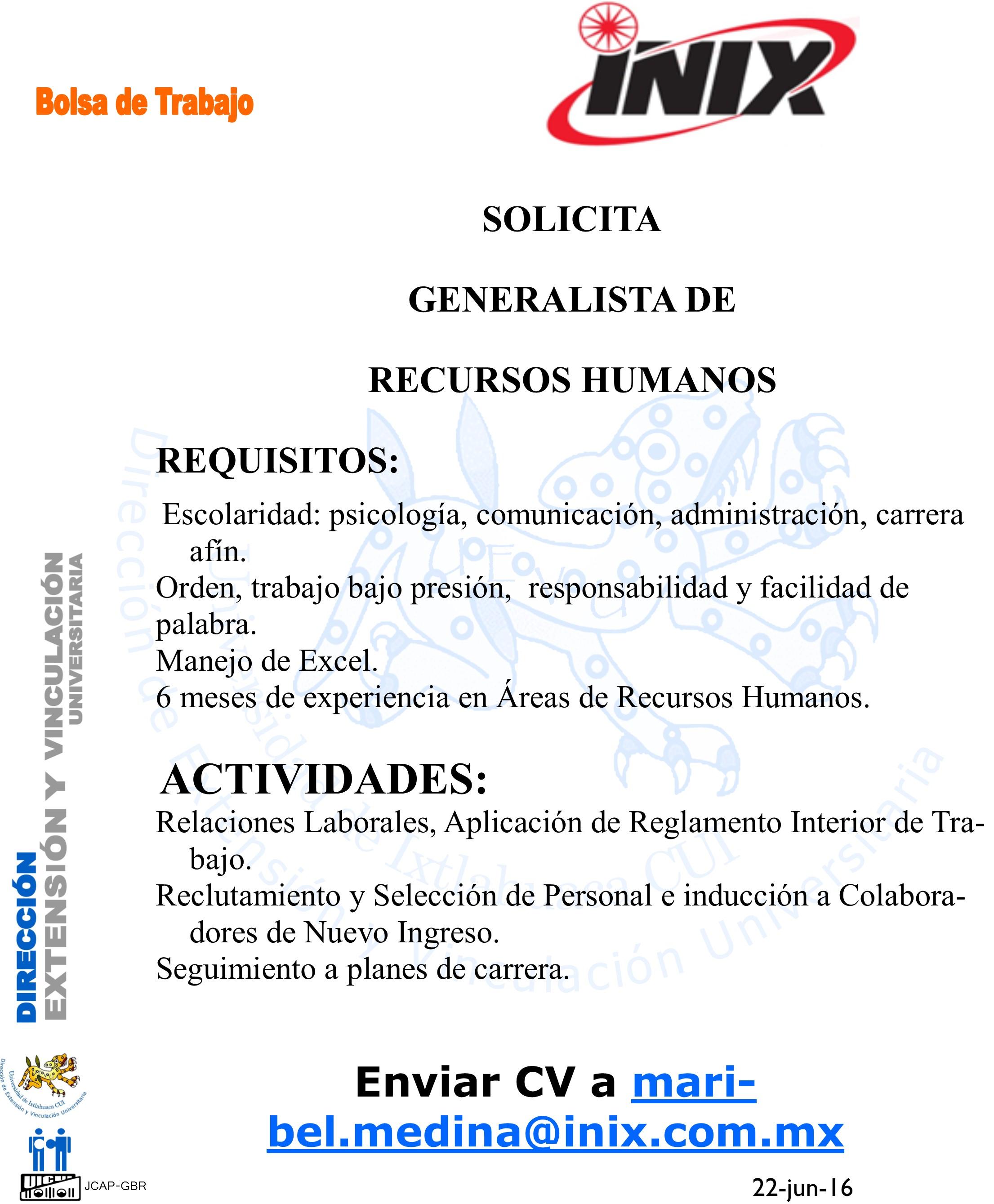 Ofertas de trabajo en Toluca de Lerdo. Consulta todas las ofertas de empleo diarias en Toluca de Lerdo publicadas en Corner Job.