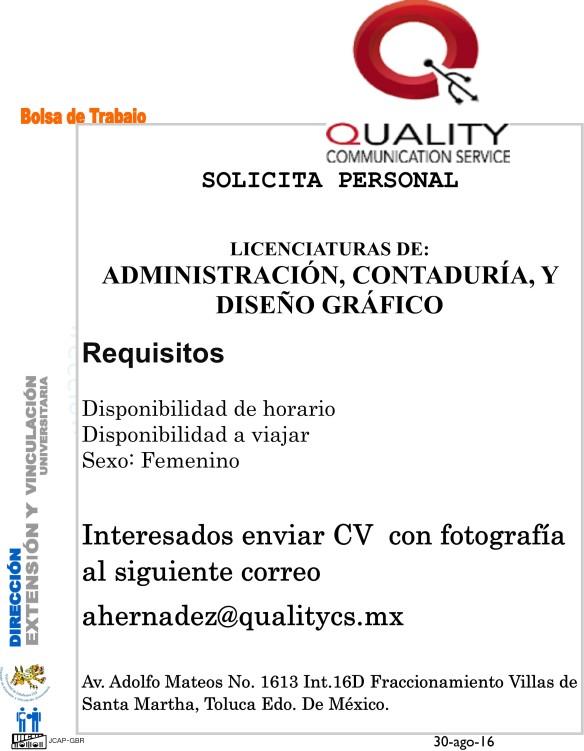 1, Ofertas de trabajo en Toluca, Estado de México: gerente, fotógrafo, representante, chofer El mejor empleo de Octubre está en Computrabajo.