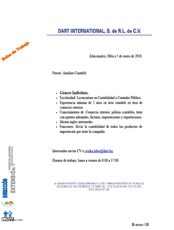 Imagen   Formato   Dirección de Extensión y Vinculación ...