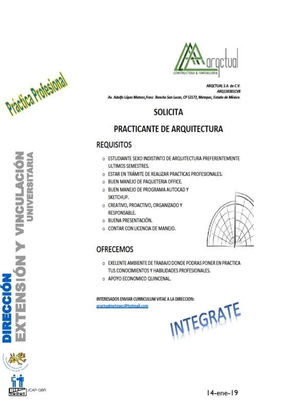 Vacantes Servicio Y Practicas Direccion De Extension Y Vinculacion