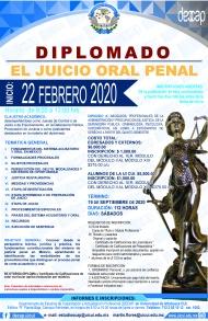 D I P EL JUICIO ORAL PENAL 2019-20